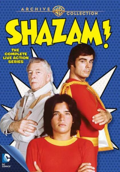SHAZAM : THE COMPLETE LIVE ACTION SERIES NEW DVD