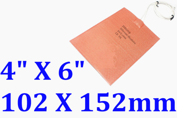100 mm X 150 mm 110 V 120 W Water Tank Pan Heater  Silicone Heat Pad 1 PC