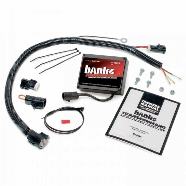 Banks 62560 Automatic Trans Computer TransCommand for 93-97 Ford E40D Trans