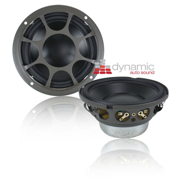 Morel HYBRID MW4 Drivers 4quot; Car Audio Hybrid Series Mid Bass Woofers Pair New $429.00