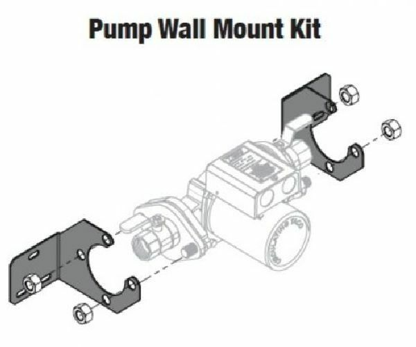 Central Boiler #1366 Taco Pump Wall Mount Kit $29.25