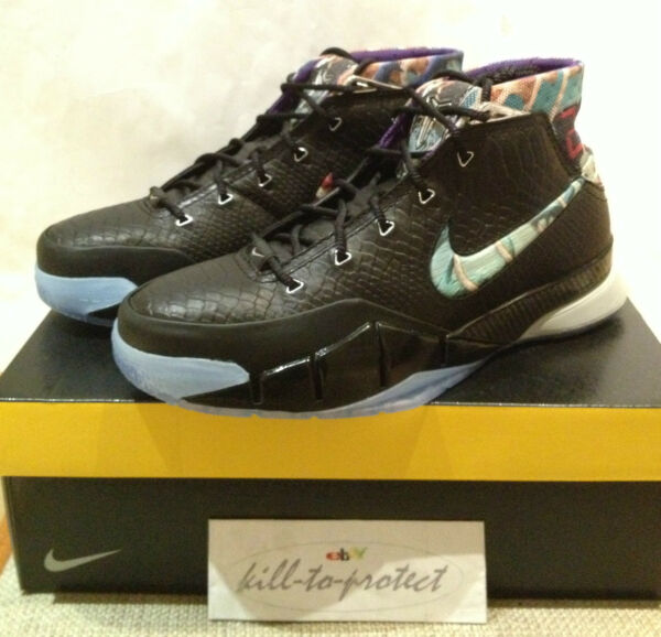 NIKE KOBE ONE 1 PRELUDE PACK Sz US9 UK8 HTM 640221-001 AS MVP 81 Points 2013
