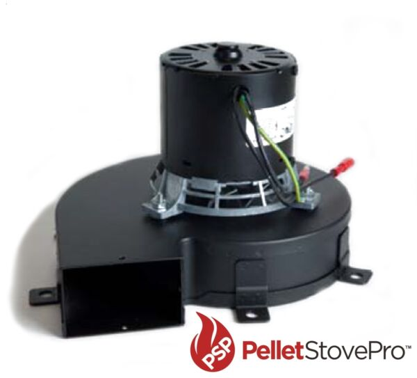 US Pellet Stove Exhaust Combustion Motor UPGRAGE with Gasket 80473 - 80454