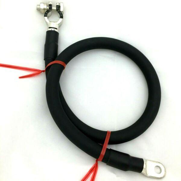 Negative Battery Cable 1/0 AWG 0 Gauge Ga Copper Custom Made Auto-Truck-Marine