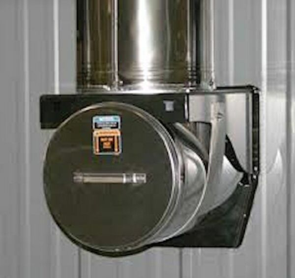 Central Boiler Stainless Steel Tee For 7260 Outdoor Wood Furnace WCap #11605