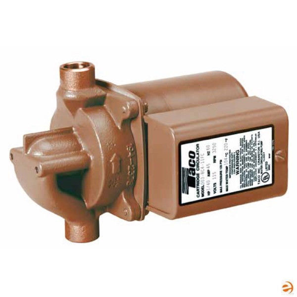 Central Boiler Taco 006 B4 Bronze Circulating Pump 110 Volt 3 4quot; SWT #175 $190.28