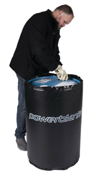Drum Heater Powerblanket BH55PRO-240V  55 Gallon Drum Heating Blanket 240 Volt