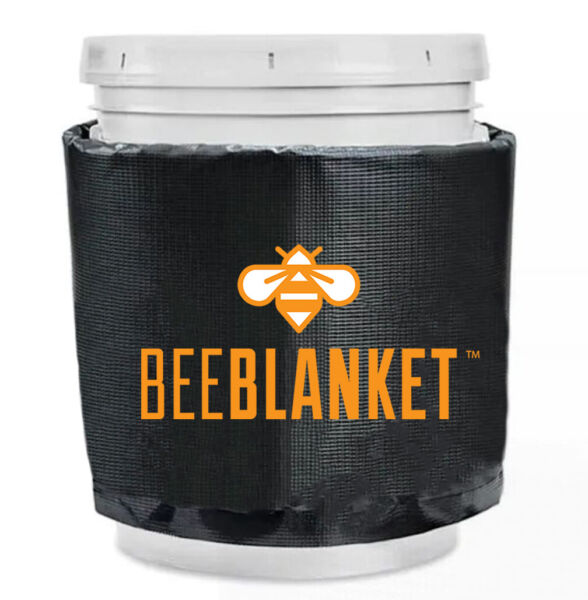 Honey Heater - BB05GV - Bee Blanket 5 Gallon Pail Heater wCutout for Gate Valve