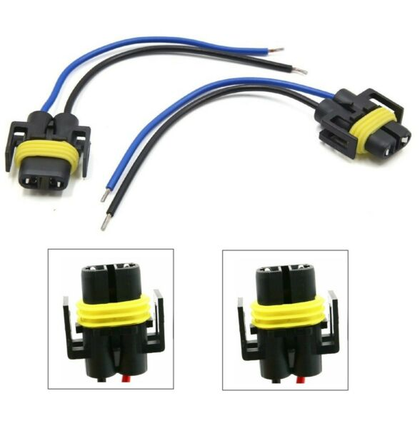 Wire Pigtail Female S H8 Fog Light Two Harness Bulb Socket Connector Plug Lamp $8.00
