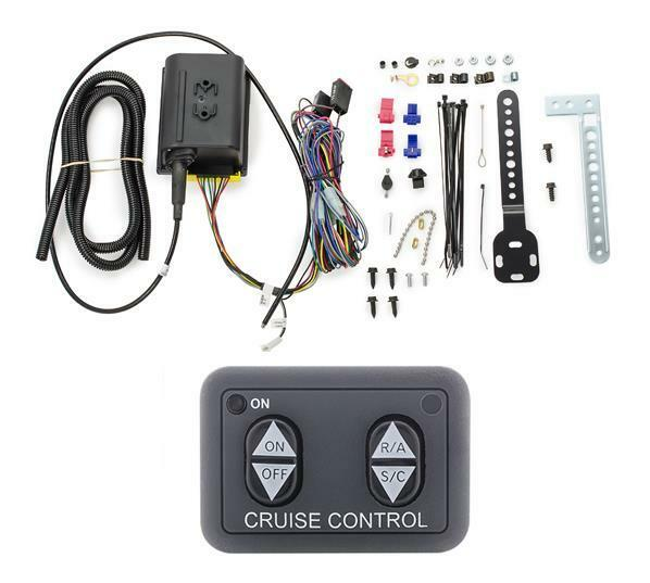 Dakota Digital Cable Driven Cruise Control Kit with Dash Mount Switch CRS-2000