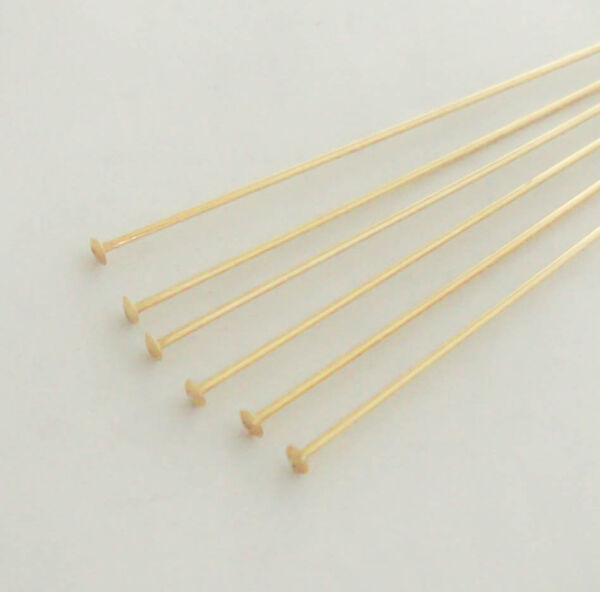Gold Filled Head Pins 1