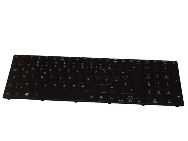 NOTEBOOK LAPTOP TASTATUR SCHWARZ in DEUTSCH für ACER Aspire 7738G