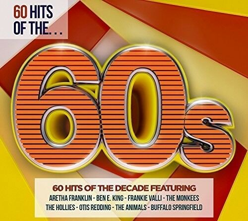 Various Artists 60 Hits Of The 60S Various New CD UK Import $10.73