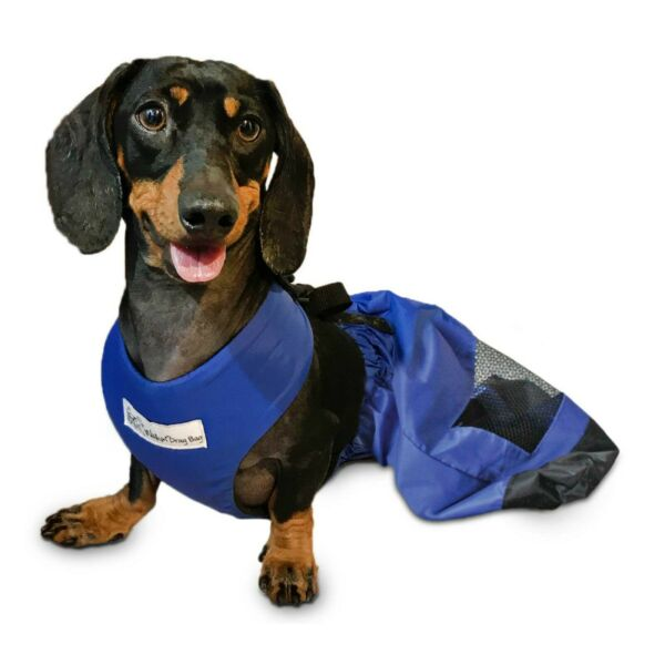 Walkin#x27; Drag Bag Indoor Dog Wheelchair Alternative Protects Chest and Limbs $44.95