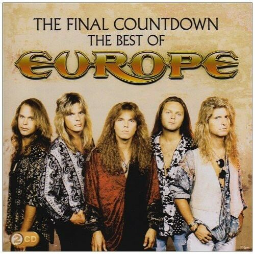 Europe Final Countdown: The Best of Europe New CD Portugal Import