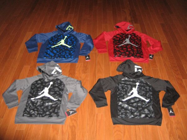 AIR JORDAN PULL-OVER HOODIE JACKET BOYS SIZE SMLXL NWT