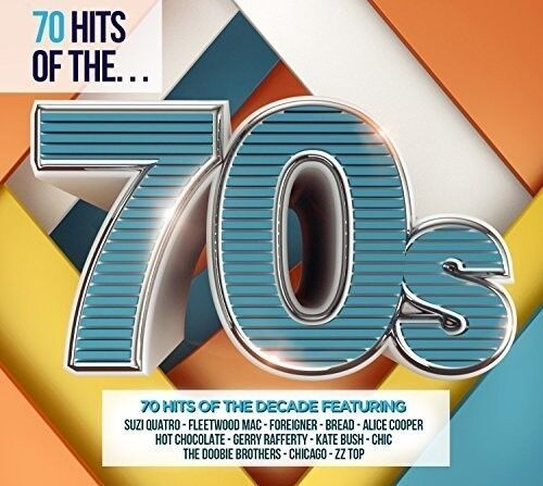 Various Artists 70 Hits Of The 70s Various New CD UK Import $11.98