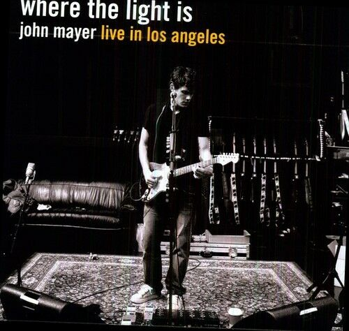 John Mayer Where the Light Is New Vinyl LP Holland Import