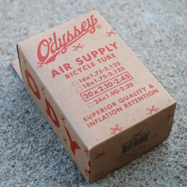 ODYSSEY BMX BIKE AIR SUPPLY BICYCLE INNER TUBE 20x2.10 2.45quot; $7.95