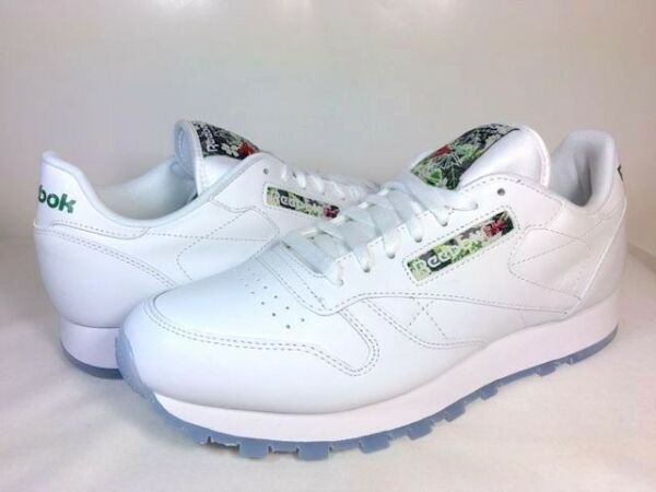MENS REEBOK CLASSIC LEATHER SF White/Ice V67855 ATHLETIC