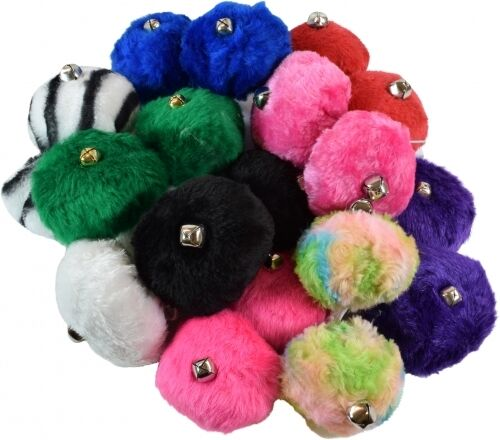 Roller Skate Pom Poms with Bell Variety of Colors Sold As A Pair $7.50