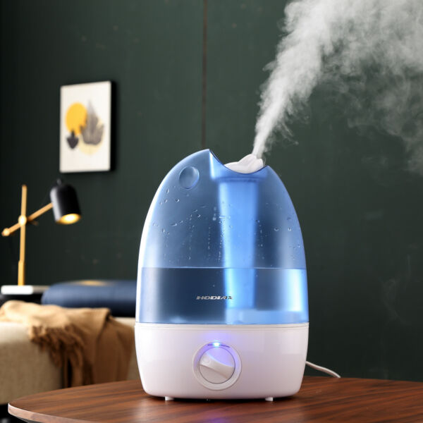 5L High-Capacity Ultrasonic Humidifier Cool Air Diffuser Purifier Home Office