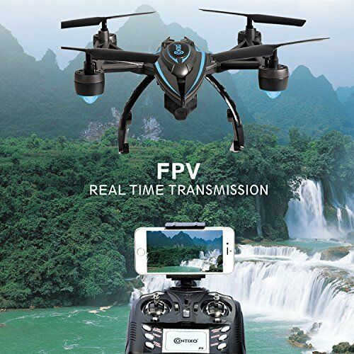 Drone WiFi FPV HD Camera Quadcopter Live Video One Key Return Altitude Hold NEW