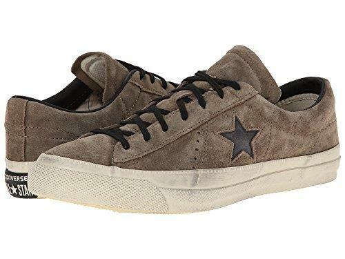 Converse X John Varvatos ONE Star Player Ox Suede Military Olive 145383c