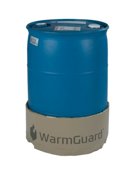 WarmGuard WG55 55-Gallon Insulated Drum Heater - Barrel Heater Fixed Temp 145 F
