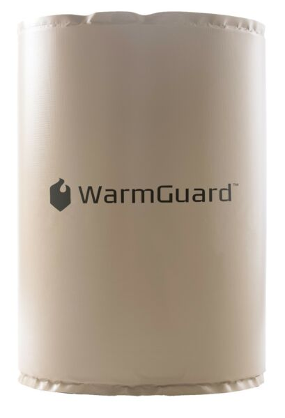 WarmGuard WG55F 55-Gallon Insulated Full Coverage Drum Heater Fixed Temp 145 F