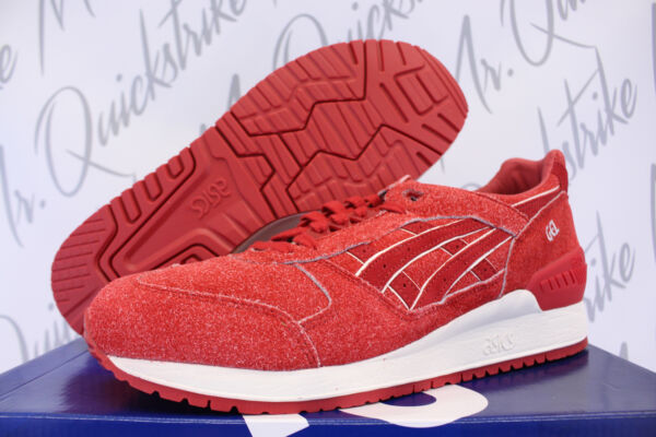 ASICS GEL RESPECTOR SZ 12 INDEPENDENCE 4TH OF JULY PACK RED WHITE H6U3L 2525
