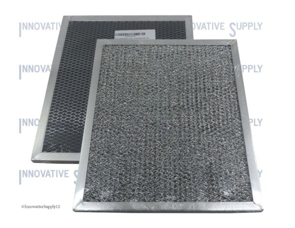 2-Pack Broan/Nutone Replacement Charcoal Range Hood Filter 41F, 97007696 - NEW