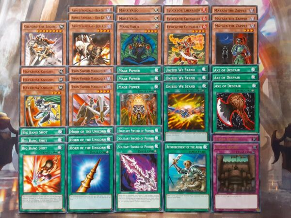 Yugioh Tournament Ready to Play Ben Kei Warrior Mage Power OTK FTK 40 Card Deck