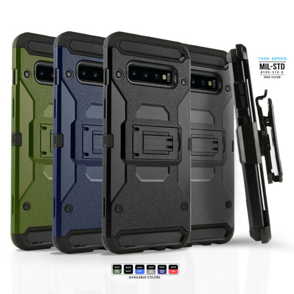 for SAMSUNG GALAXY S9 S10 S10e PLUS NOTE 9 [Tank Series] Phone Case