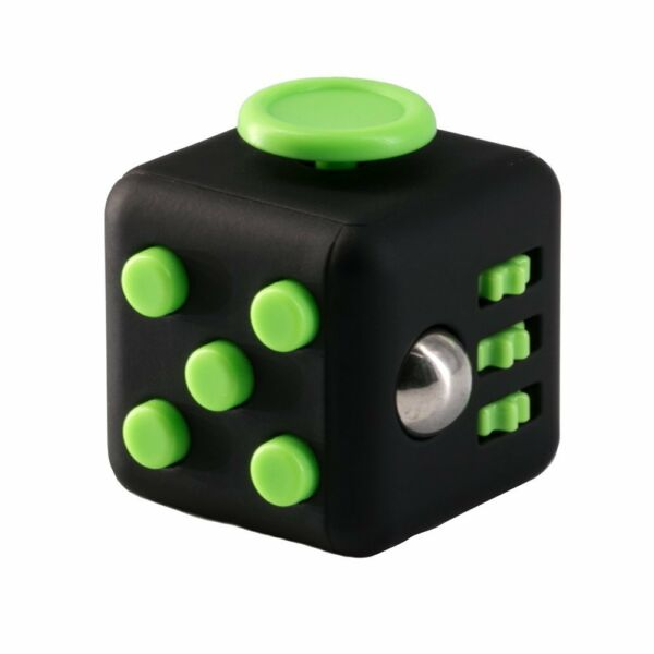 Fidget Toy Cube Stress Anxiety Relief Desk Relief 6 Sided For Adults Kids Focus