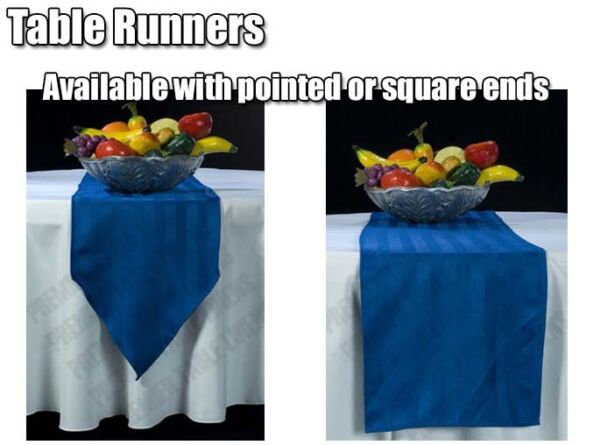 Table Runners You Pick Polyester or Satin Banquets Weddings Parties