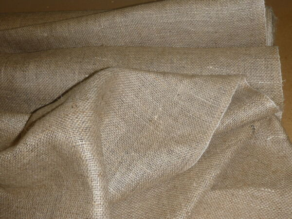 Hessian Fabric Natural Jute Burlap - Craft Sacking Upholstery Wedding 40
