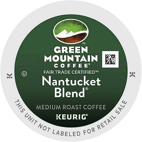 480 Green Mountain Coffee® Nantucket Blend® Coffee K-Cup® Pods 480 K-cups Fresh!