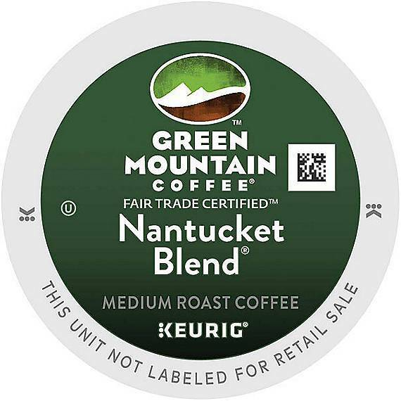 576 Green Mountain Coffee® Nantucket Blend® Coffee K-Cup® Pods 576 K-cups Fresh!