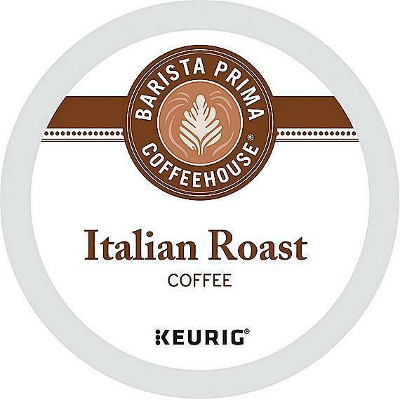 576 Barista Prima Coffeehouse® Italian Roast Coffee Keurig® K-Cup® Pods Fresh!