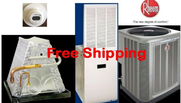 3 Ton R-410A 14SEER Mobile Home Elec Heating System Condenser  E Furnace Coil