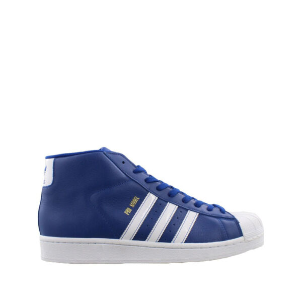 Adidas Pro Model Royal Blue & White / BY3727 / Men Originals Gold Metallic Shell