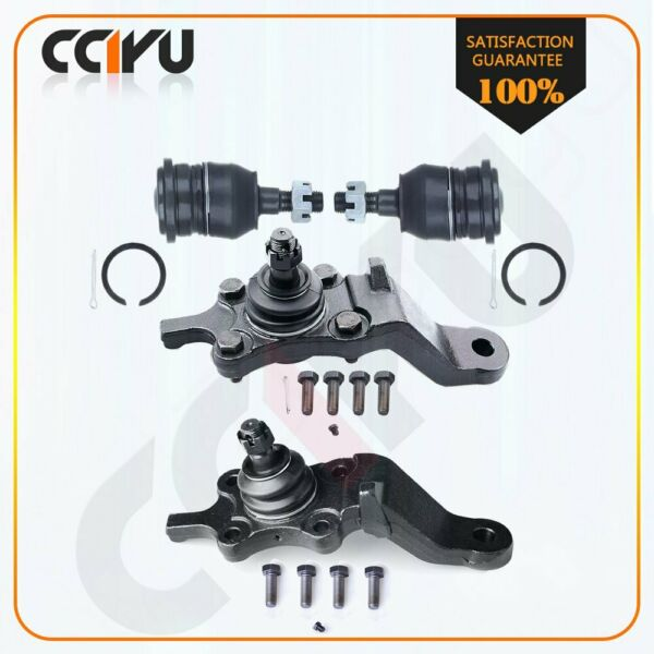 4 Suspension & Steering Parts Upper & Lower Ball Joint for 96-02 Toyota 4Runner