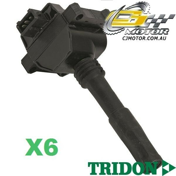 TRIDON IGNITION COIL x6 FOR Alfa Romeo  Spider 3.0 V6 01-04 V6 3L AR16105