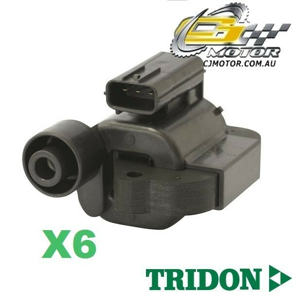 TRIDON IGNITION COIL x6 FOR Honda  Accord (V6)CG CK 1297-2000 V6 3.0L J30A1