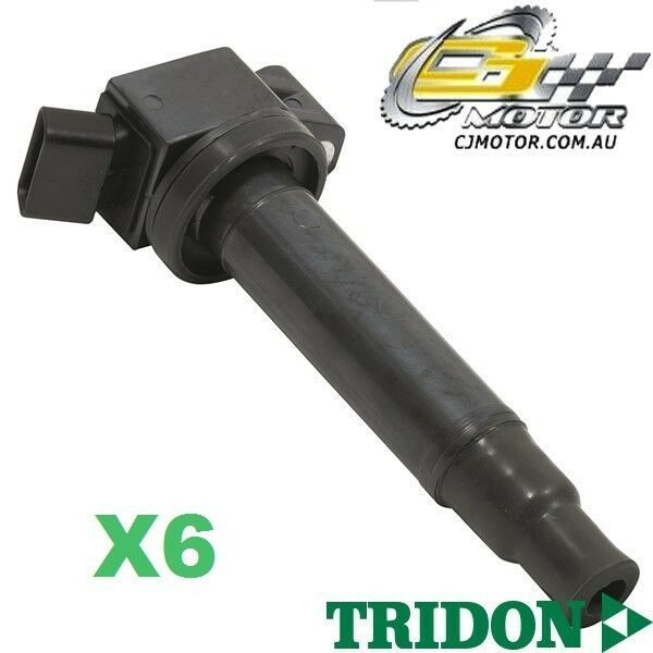 TRIDON IGNITION COIL x6 FOR Lexus  ES300 MCV30R 1001-0608 V6 3.0L 1MZ-FE