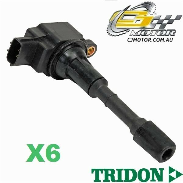 TRIDON IGNITION COIL x6 FOR Nissan Murano Z51 0109-0610 V6 3.5L VQ35DE