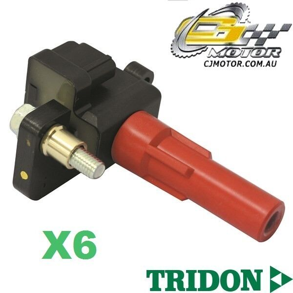 TRIDON IGNITION COIL x6 FOR Subaru Tribeca 1106-1107 6 3.0L EZ30