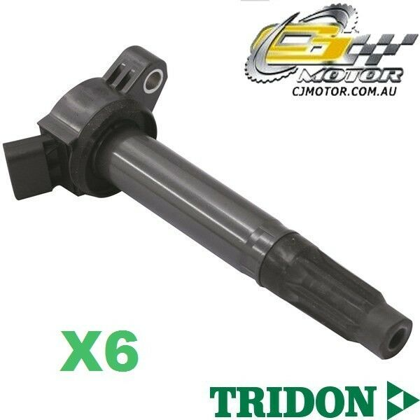 TRIDON IGNITION COIL x6 FOR Toyota Kluger GSU40R-45R 807-610 V6 3.5L 2GR-FE