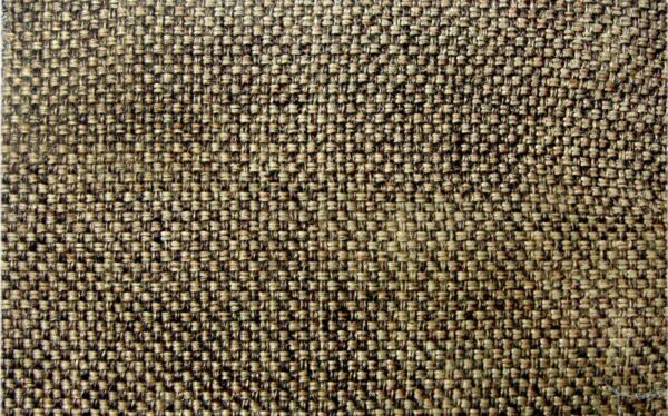 54 Inch Wide Jute Pattern Brown Burlap Polyester Fabric Quilted Upholstery 5Yard